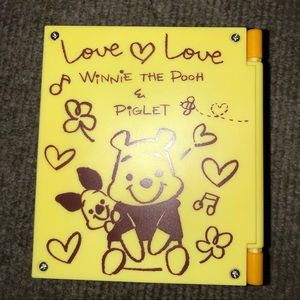 Other - yellow pooh clock decor